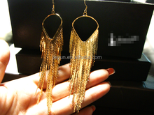 China factory wholesale luxury long tassel eardrop