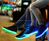 High quality Luminous Led Shoes women and man led light shoes Adult LED Light Up shoes