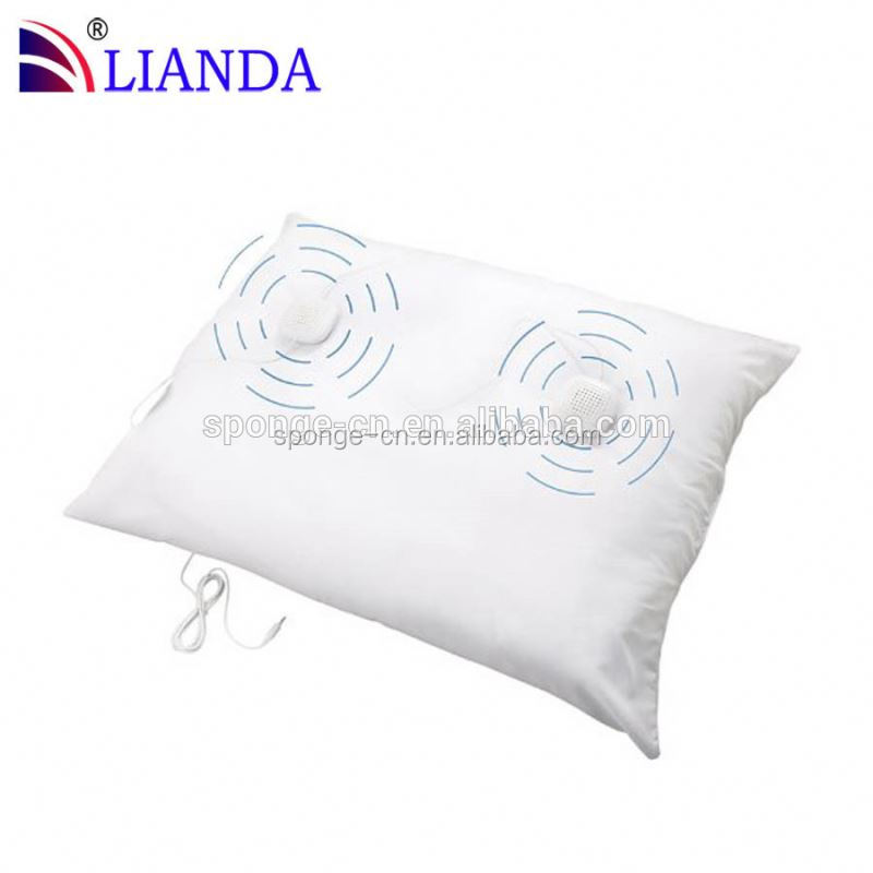 mp4 pillow, music and led decorative pillow, music bluetooth pillow speaker