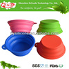 Food Safe Camping Silicone Foldable Bowl For Any Color Sale
