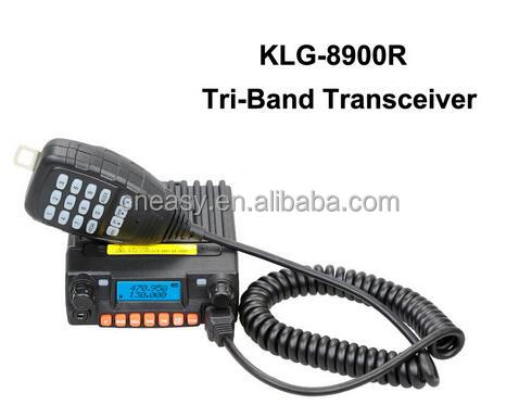 Tranceiver in car with Memory FM Radio Channel KangLong KLG-8900R