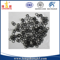 Clear Silicone O-ring Round Flat Rubber Gasket Seals