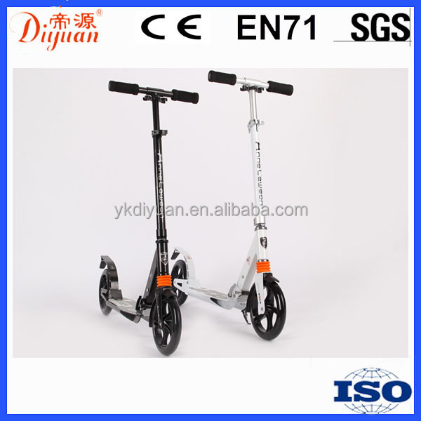 PU Wheels Aluminum Kick Scooter Adult