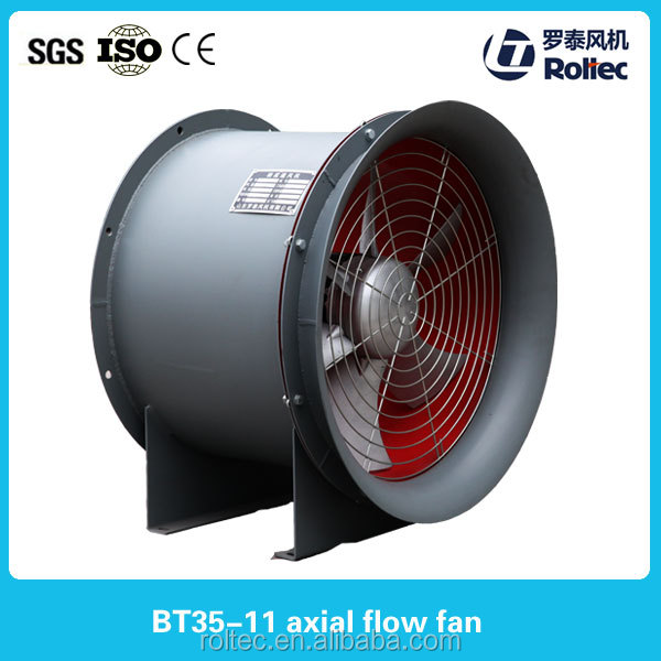 T35-11 mini explosion-proof portable ventilation fan axial