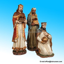 3-piece Three Kings Outdoor Christmsa Nativity Set