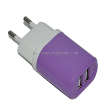 Wholesale Low Cost dual Port USB Wall Charger for iPhone for Android