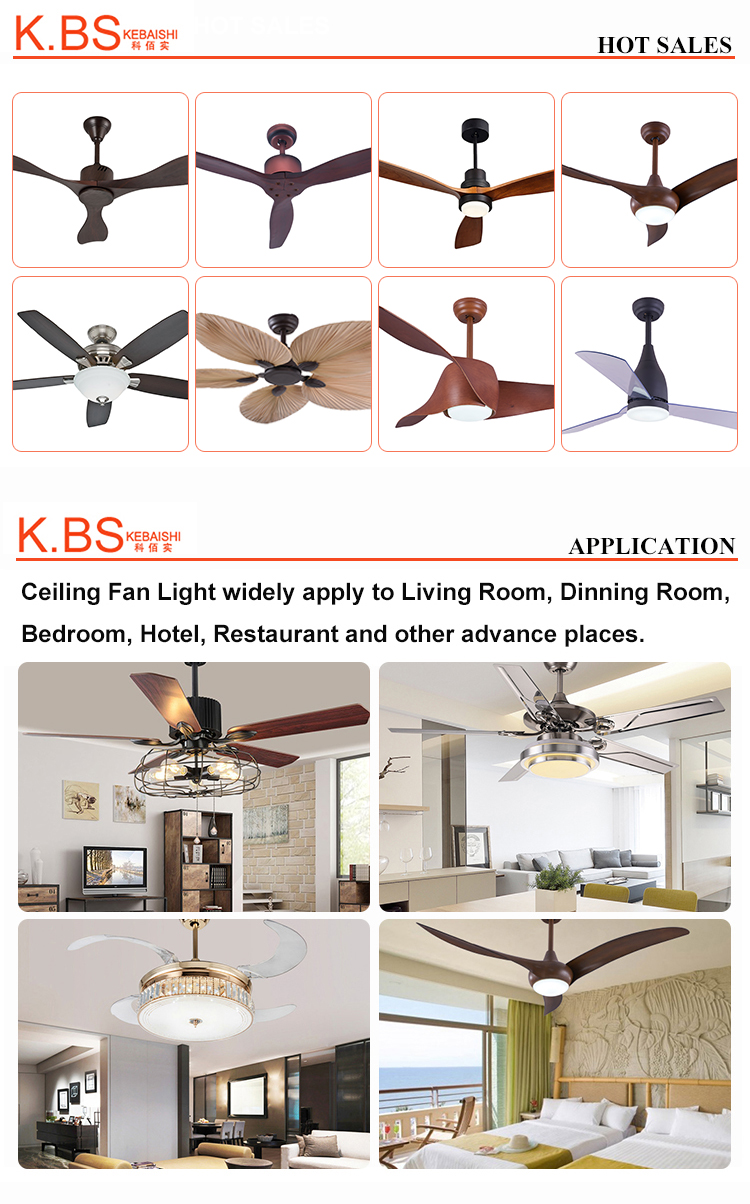 Home Appliances Fan Ceiling 20 Watt Remote Control Ceiling Fan With Light