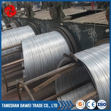 Best quality 1.2mm galvanized binding wire 18 gauge in China Tangshan