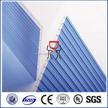 GE Lexan polycarbonate frosted hollow sheet/frosted polycarbonate panel