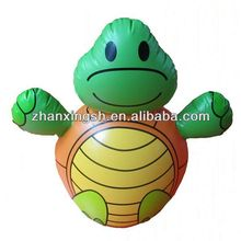 2014 shanghai zhanxing hot sale fashion popular new pvc inflatable turtle toy for family in good price