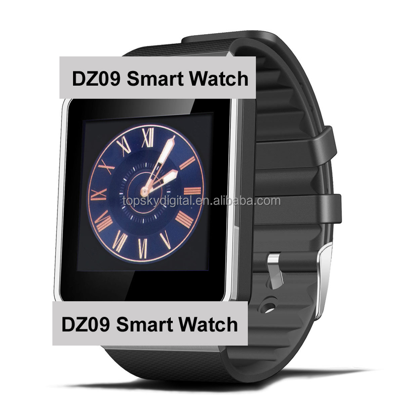 DZ09 Bluetooth Smart Watch Phone + Camera SIM Card For Android I OS Phones