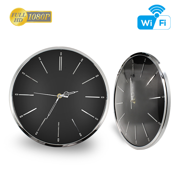 Aishine <strong>R</strong>&D Wifi P2P Wall clock home security Camera home <strong>1080P</strong> 2.0mega online live monitor