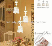 2013 Saloon crystal stairs chandelier light