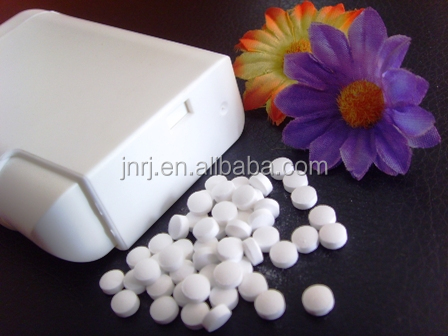 Stevia tablets in dispenser