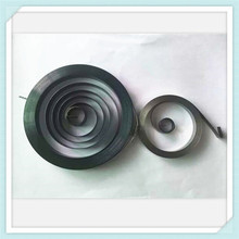 steel flat contact spiral torsion springs sprial coil spring