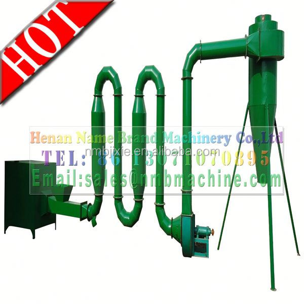 CE newest type hot air flow dry fish feed machine