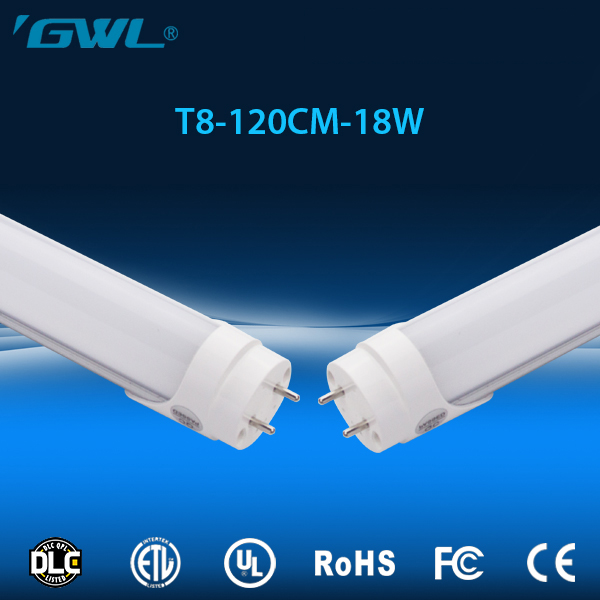 Factory price high brighness 140lm/w 120cm t8 LED Light tube with UL ROHS certification