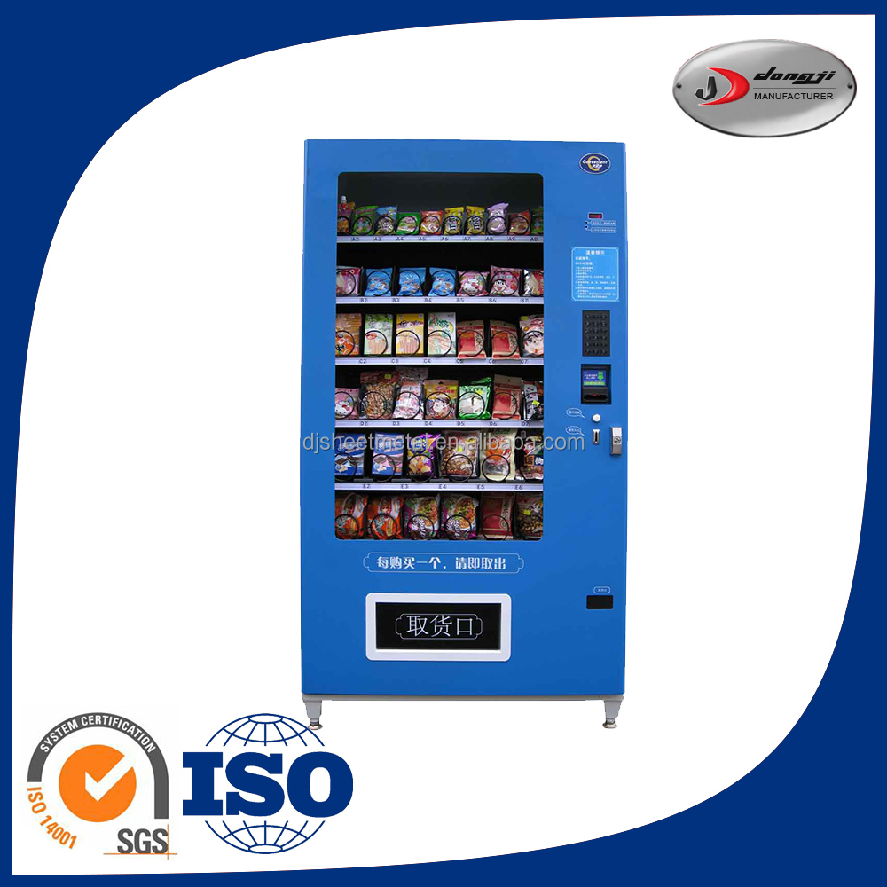 factory price Customcheap snack and soda vending machine