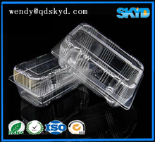 Vacuum forming plastic box disposable lunch tray
