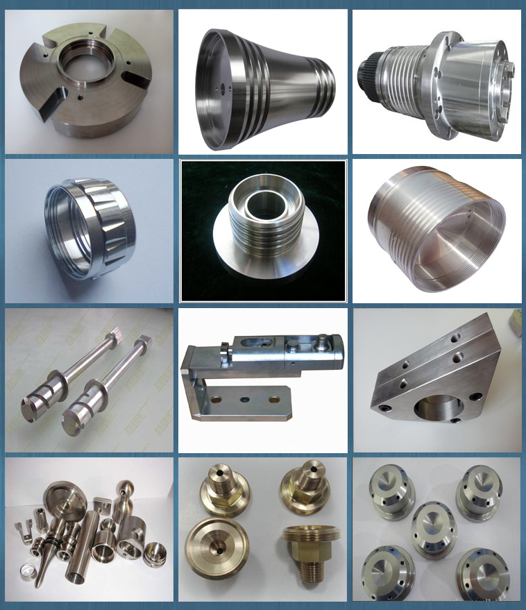 Stainless steel Three axis machining parts with brush surface