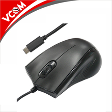 VCOM oem odm type c wired mouse for ultrabook laptop