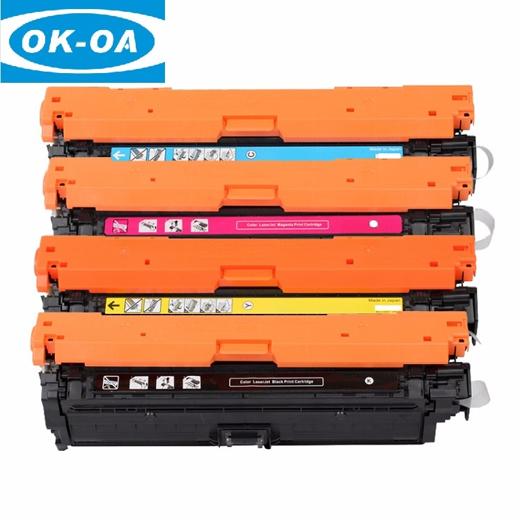 CE270A CE271A CE272A CE273A color toner cartridge compatible 5520 for HP