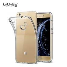 For HUAWEI P9 lite Crystal Liquid Phone Case Clear Phone Case Back Protective Cover for HUAWEI P9 lite (2017)