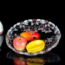 Multifunctional Large Glass Fruit Bowls for home decoration