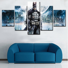 Canvas Wall Art Picture Framework Home Decor Living Room Poster 5 Pieces Anime Characters HD Printed Painting
