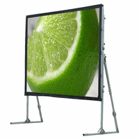 High quality 150 inch 4:3 fast fold projection screen