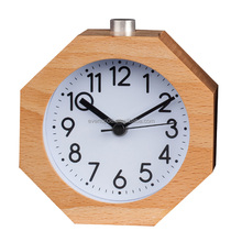 Decorative Table Desk Wooden Alarm Clock Silent Table clock ET530