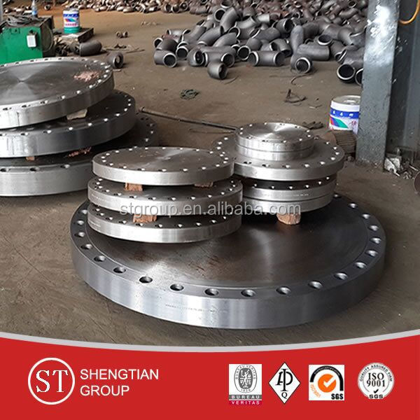 China top quality customized forged tapped flange threaded flange