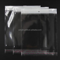Plastic Clear Shirt Packing Poly Self