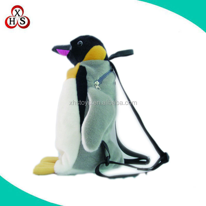 custom backpack bag penguin images of school bag and backpack manufacture in China