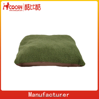 SOFT FLEECE DOG BED / PET BED/ PILLOW CUSHION WITH REMOVABLE COVER
