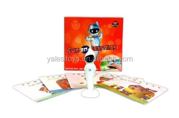 New hot video kids touch book talking pen