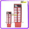 retail supermarket corrugated cardboard floor display for toys