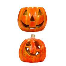 customized artificial halloween decorations led light pumpkin