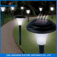 Factory wholesale direct durable light solar garden with 1*white LED