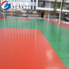 Weather resistant exterior sport court PU polyurethane floor paint manufacturer