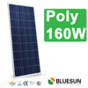 led lamp with 125w 130w poly solar panel