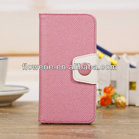 FL2752 2013 China new product korean style wallet leather case for iphone 5s with 3 card slots