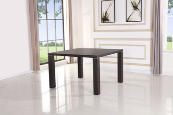 Professional 152*100*76cm popular cheap mdf dining table