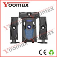 3.1 speaker system high power,sea piano home theatre USB SD FM