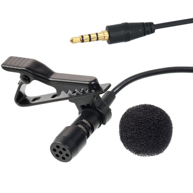 SM-04 Professional Smartphone Microphone for Recording and Calling with TRRS Stereo Jack Smartlav Mic