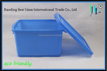 New coming reliable Quality plastic storage box with wheel stackable
