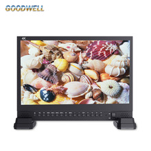 Made in China 3840x2160 IPS Panel 4x HDMI Inputs 15 Inch LCD HD-SDI Monitor for Broadcassting