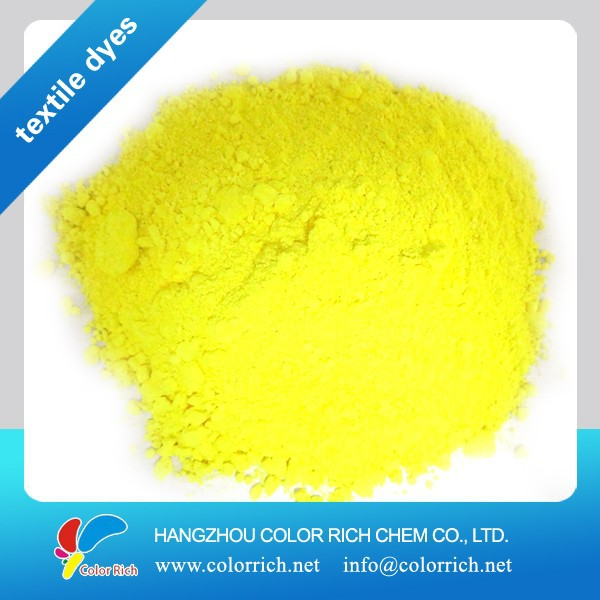 Disperse Yellow 184:1 400% denim dye organic powder dye permanent fabric dye