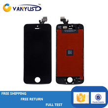 Mobile Phone spare Part for iphone 5 5g lcd,for iphone 5 5g screen,for iphone 5 5g lcd screen with Digitizer Black