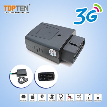 Canbus GPS OBD Tracker with Engine Detection, Supported RFID, wireless immobilizer
